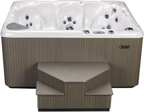 Beachcomber 540 portable Eco-Loc Hot Tub, afm. 178 x 218 x 97 cm-2