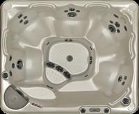 Beachcomber 540 portable Eco-Loc Hot Tub, afm. 178 x 218 x 97 cm