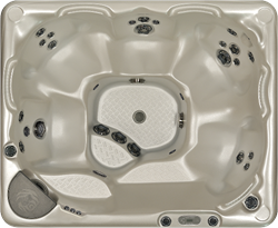 Beachcomber 540 portable Eco-Loc Hot Tub, afm. 178 x 218 x 97 cm