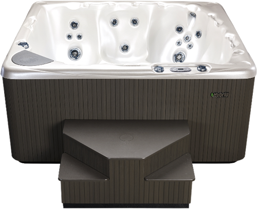 Beachcomber 550 portable Eco-Loc Hot Tub, afm. 224 x 203 x 97 cm-2