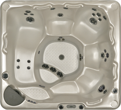 Beachcomber 550 portable Eco-Loc Hot Tub, afm. 224 x 203 x 97 cm
