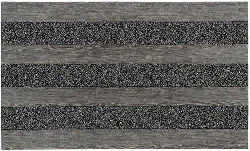 Deurmat Woodland, afm. 46 x 76 cm - steel