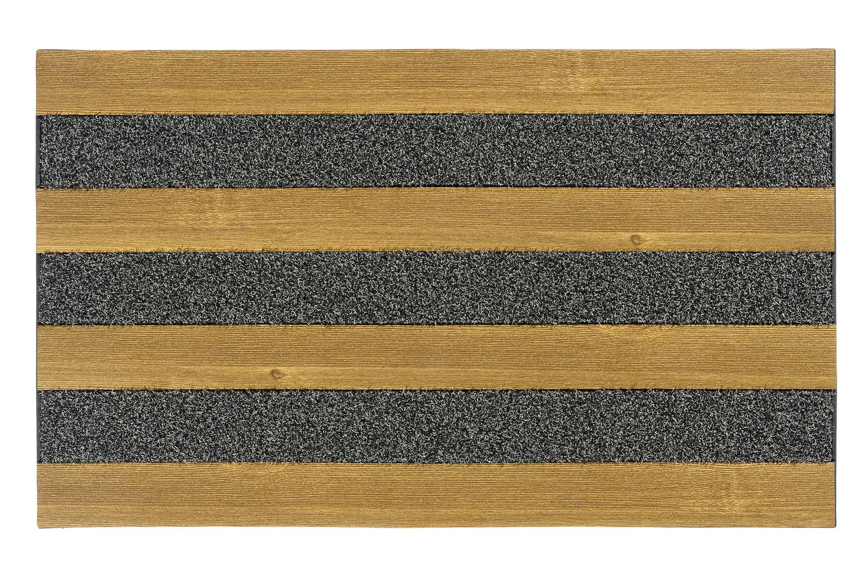 MD-Entree deurmatten Deurmat Woodland, afm. 46 x 76 cm - oak