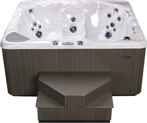 Beachcomber 570 portable Eco-Loc Hot Tub, afm. 224 x 203 x 97 cm-2