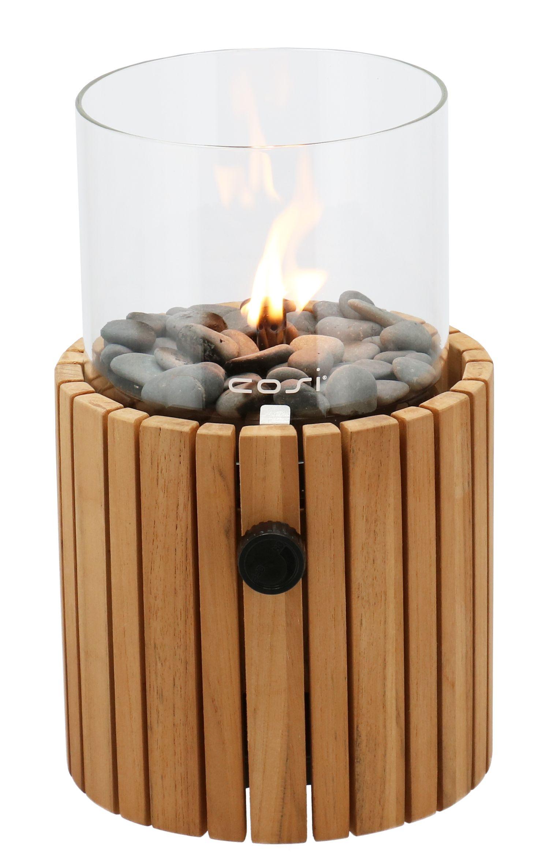 Cosi Fires vuurtafels en gaslantaarns Cosi Fires gaslantaarn Cosiscoop Timber, Teak