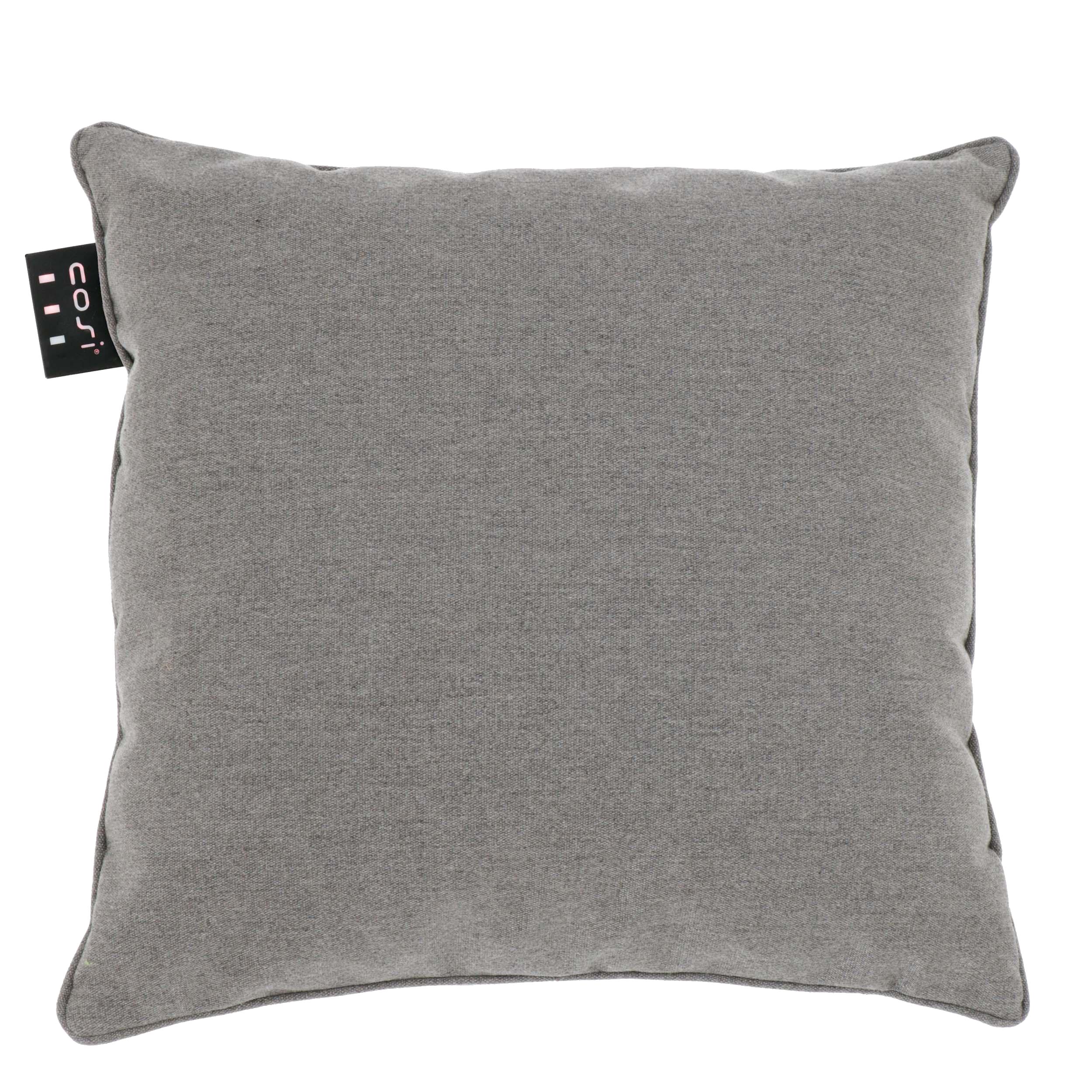 Cosi Fires vuurtafels en gaslantaarns Cosi Fires, Cosipillow solid heating cushion, afm. 50 x 50 cm, bruin/grijs
