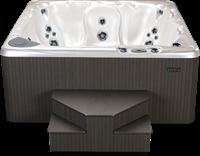 Beachcomber 590 portable Eco-Loc Hot Tub, afm. 226 x 226 x 97 cm-2