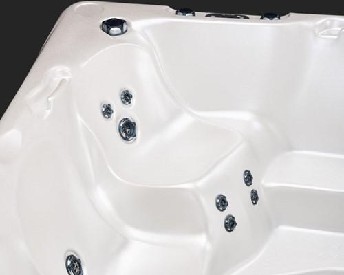 Beachcomber 590 portable Eco-Loc Hot Tub, afm. 226 x 226 x 97 cm-3