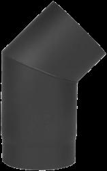 Cosi Fires kachelpijp bocht 45 graden diameter 15 cm