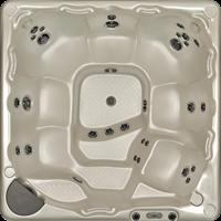 Beachcomber 590 portable Eco-Loc Hot Tub, afm. 226 x 226 x 97 cm