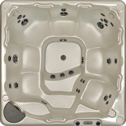 Beachcomber 590 portable Eco-Loc Hot Tub, afm. 226 x 226 x 97 cm