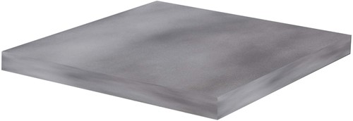 Cosi Fires tafelblad CosiCube, afm. 63 x 63 cm, hoogte 6 cm, composiet, betonlook