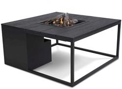 Cosi Fires loungetafel/vuurtafel Cosiloft black/black, afm. 100 x 100 x 47 cm
