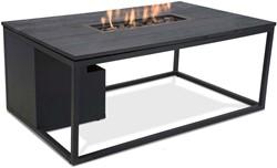Cosi Fires loungetafel/vuurtafel Cosiloft black/black, afm. 120 x 80 x 47 cm