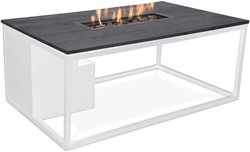 Cosi Fires loungetafel/vuurtafel Cosiloft white/black, afm. 120 x 80 x 47 cm