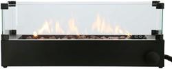 Cosi Fires inbouwbrander Cosiburner, build up incl. glass, afm. 70 x 20 cm, hoogte 27 cm, vermogen 9kW
