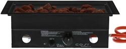 Cosi Fires inbouwbrander Cosiburner, rechthoekig black, afm. 52 x 32 cm, hoogte 16,5 cm, vermogen 9kW