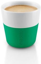 Eva Solo Espresso koffiemok, inhoud 80 ml, groen, per 2 st.