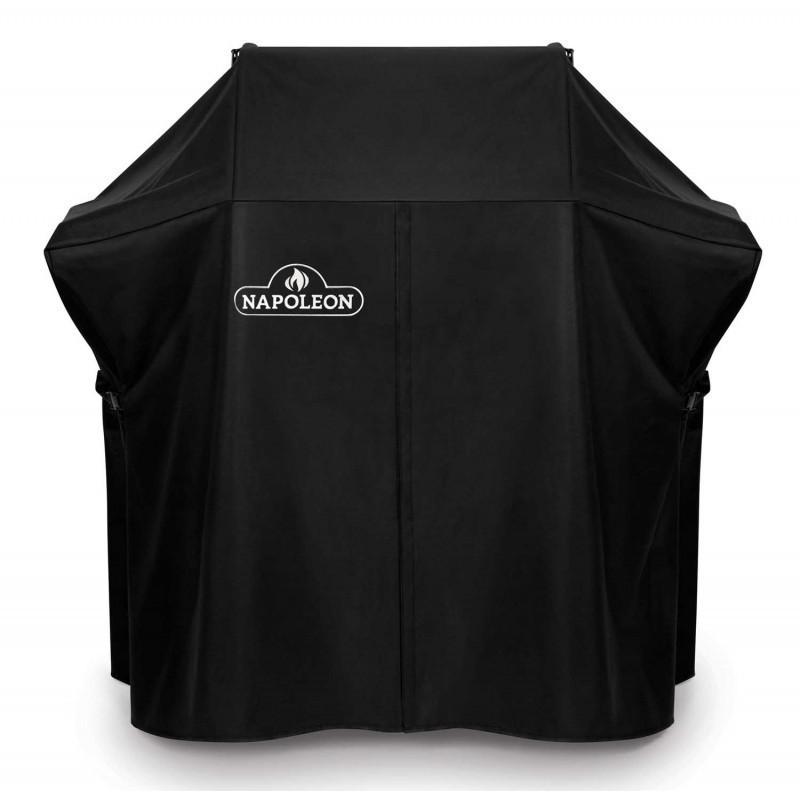 Napoleon barbecues Beschermhoes voor Napoleon barbecue Rogue 365, zijtafels uitgeklapt