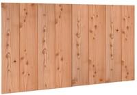 Douglasvision Wand C verticale halfhouts rabat dubbelzijdige wand, afm. 278,5 x 232 cm