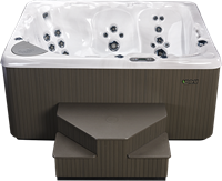 Beachcomber 710 portable Eco-Loc Hot Tub, afm. 178 x 218 x 97 cm-2