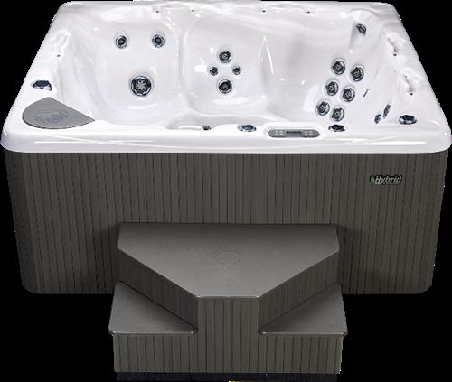Beachcomber 720 portable Eco-Loc Hot Tub, afm. 224 x 203 x 97 cm-2