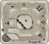 Beachcomber 720 portable Eco-Loc Hot Tub, afm. 224 x 203 x 97 cm