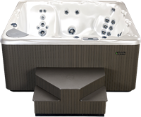 Beachcomber 730 portable Eco-Loc Hot Tub, afm. 224 x 203 x 97 cm-2