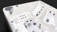 Beachcomber 730 portable Eco-Loc Hot Tub, afm. 224 x 203 x 97 cm-3