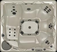 Beachcomber 730 portable Eco-Loc Hot Tub, afm. 224 x 203 x 97 cm