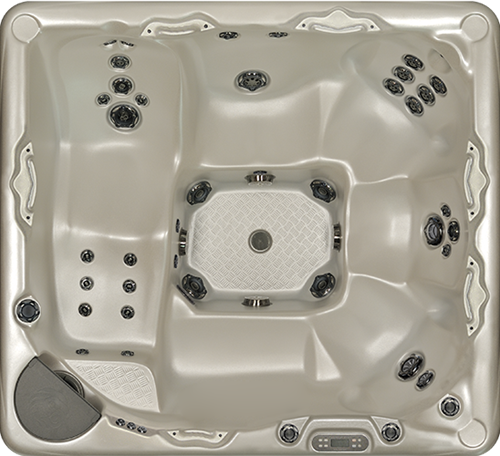 Beachcomber 730 portable Eco-Loc Hot Tub, afm. 224 x 203 x 97 cm