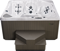 Beachcomber 740 portable Eco-Loc Hot Tub, afm. 226 x 226 x 97 cm-2