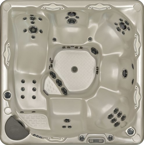 Beachcomber 740 portable Eco-Loc Hot Tub, afm. 226 x 226 x 97 cm