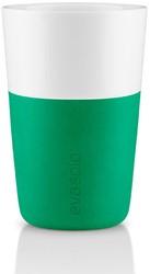 Eva Solo Caffé latte mok, inhoud 360 ml, groen, per 2 st.