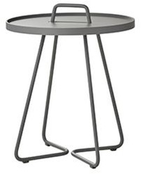 Cane-Line On-the-move tafel, small, light grey