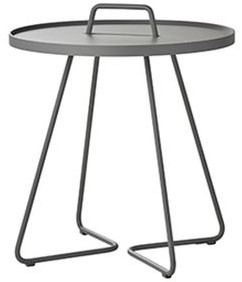 Cane-Line On-the-move tafel, large, light grey