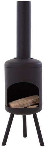 RedFire terrashaard Fuego Small, diam. 30 cm, hoogte 115 cm, zwart staal-1