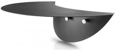 Eva Solo side-table, diam. 22,9 cm, hoogte 44 cm, voor Eva Solo  barbecue 59 cm, gecoat metaal