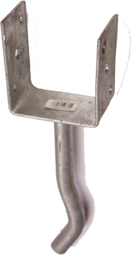 pergoladrager verzinkt  7 x 7 cm