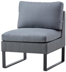 Cane-line Flex  lounge stoel - grijs