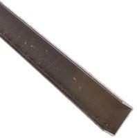 u-profiel t.b.v. betonschutting 12x12 beton, 232 cm