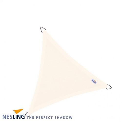 Nesling Dreamsail schaduwdoek, driehoek, afmeting 4 x 4 x 4 m, creme