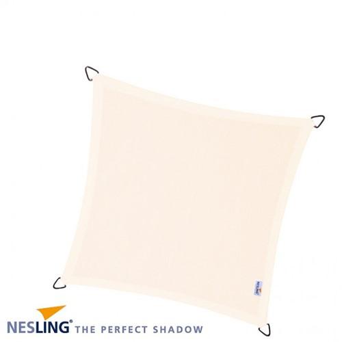 Nesling Dreamsail schaduwdoek, vierkant, 4 x 4 m, creme