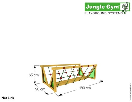 Jungle Gym montagekit Net Link -3