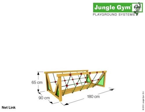 Houtpakket voor Jungle Gym Net Link, niet op maat gezaagd-3