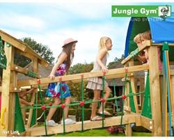 Houtpakket voor Jungle Gym Net Link, op maat gezaagd