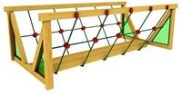 Houtpakket voor Jungle Gym Net Link, op maat gezaagd-2