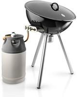 grill met gasfles