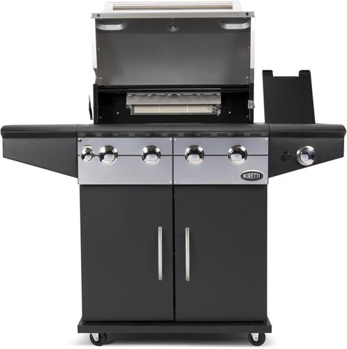 Boretti gasbarbecue Da Vinci, Nero-2