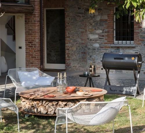 Boretti houtskoolbarbecue Barilo